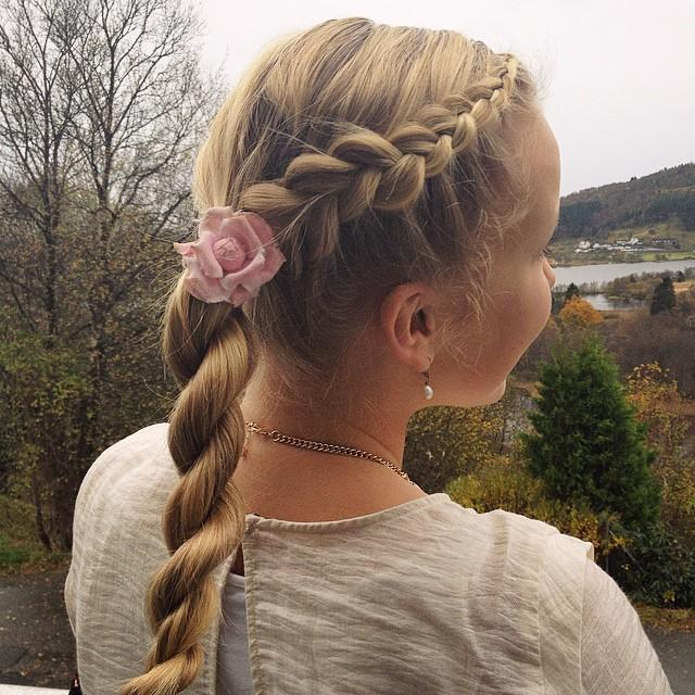 dutch lace braid