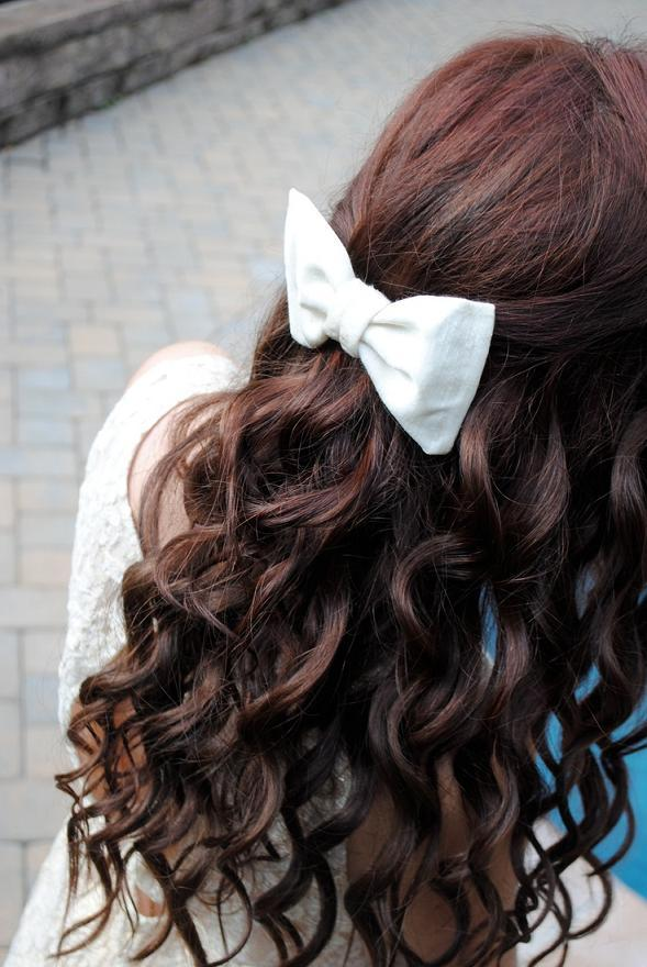 Marvelous 6 Cute Hairstyles That Look Better With Bows Hairstyle Mag Short Hairstyles Gunalazisus