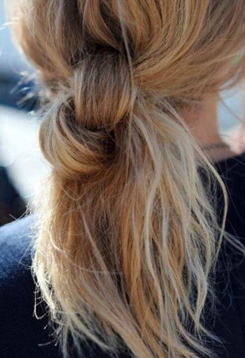 ponytail knot