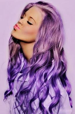 Surprising 7 Purple Hairstyles You39Re Going To Love Hairstyle Mag Short Hairstyles Gunalazisus