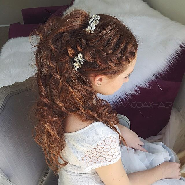stunning bridal hair