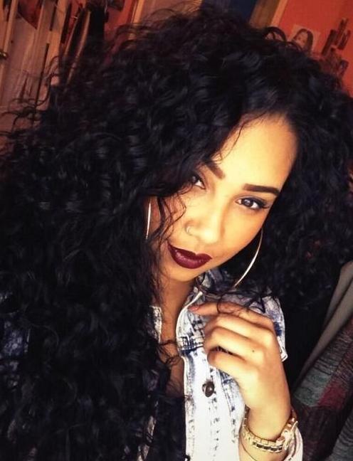 full natural curls
