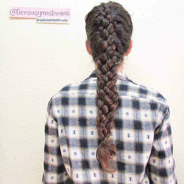 5 strand french braid