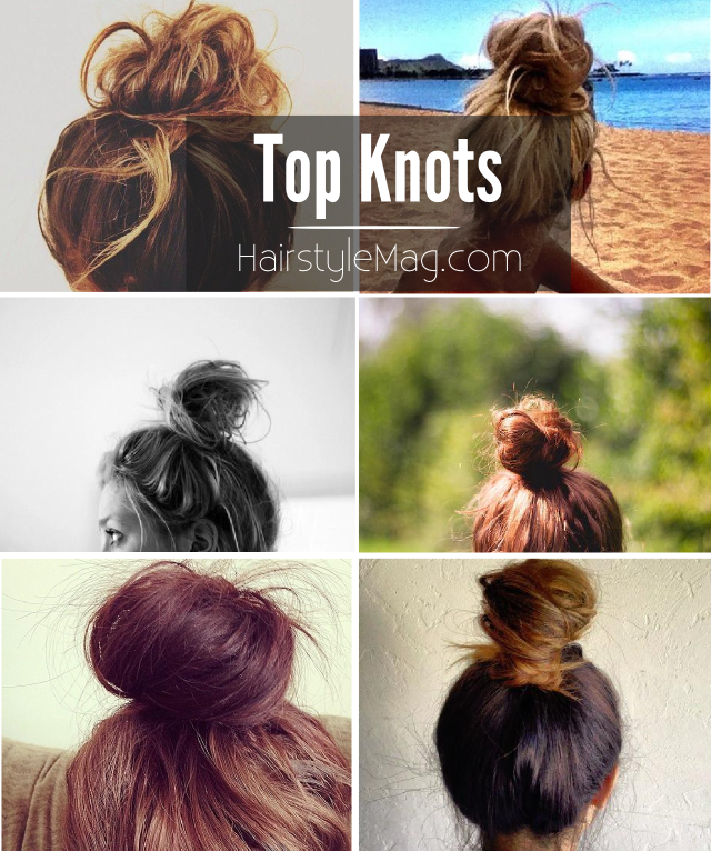 Top Knots - HairstyleMag