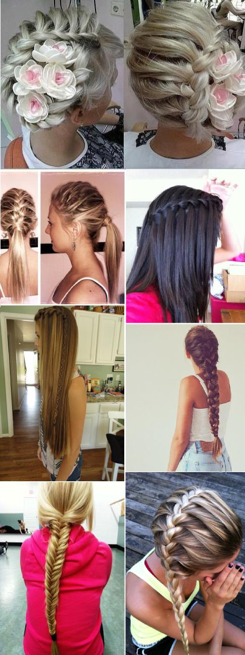 we love braided hairstyles