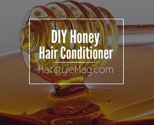 Homemade Honey Hair Conditioner