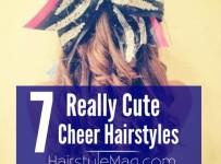 7 Cute Cheerleader Hairstyles