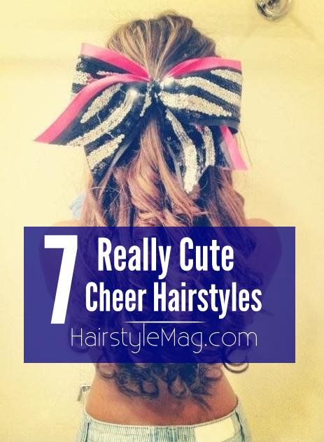 7 Really Cute Cheer Hairstyles
