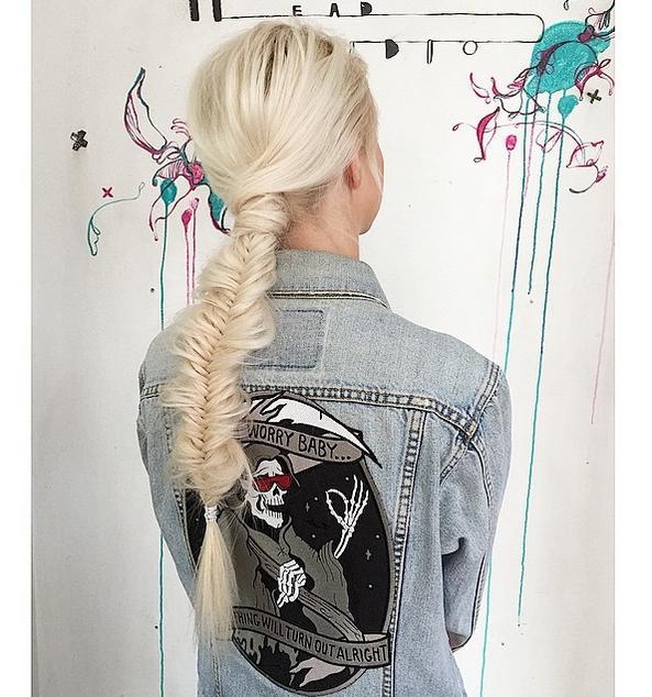 fishtail braid headstudio