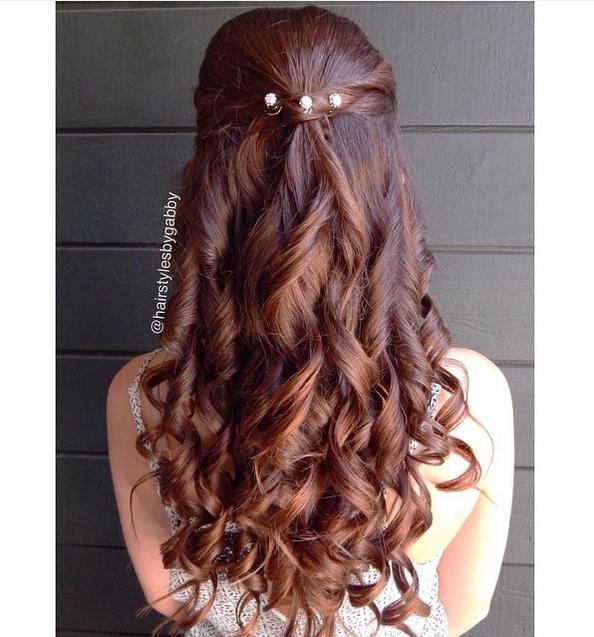 Cool Cute Half Up Down Braided Hairstyles Braids Hairstyles For Women Draintrainus