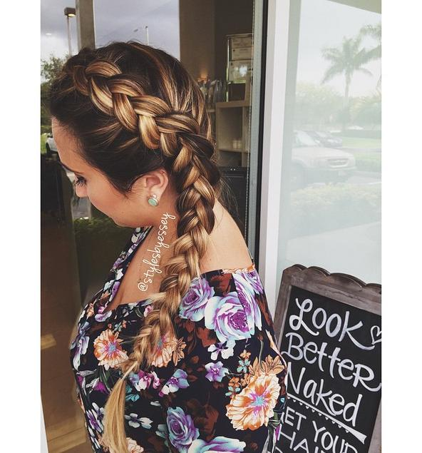 pretty Dutch braid