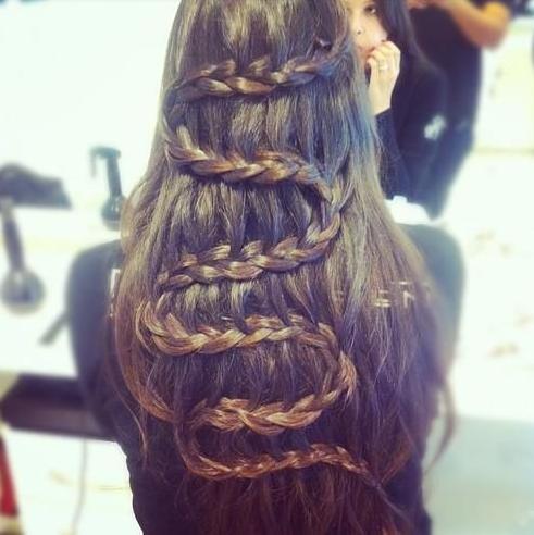 swirl snake braid