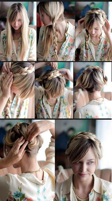 Milkmaid Braid In 5 Minute