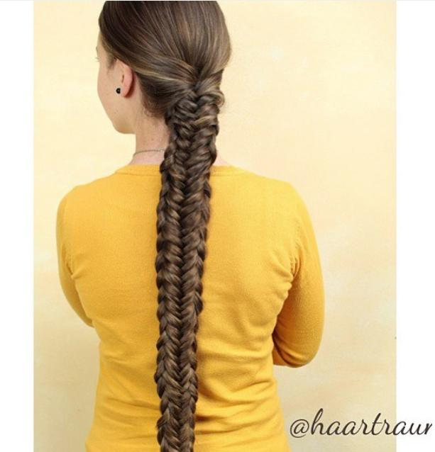Twisted edge fishtail for #fishtailfriday