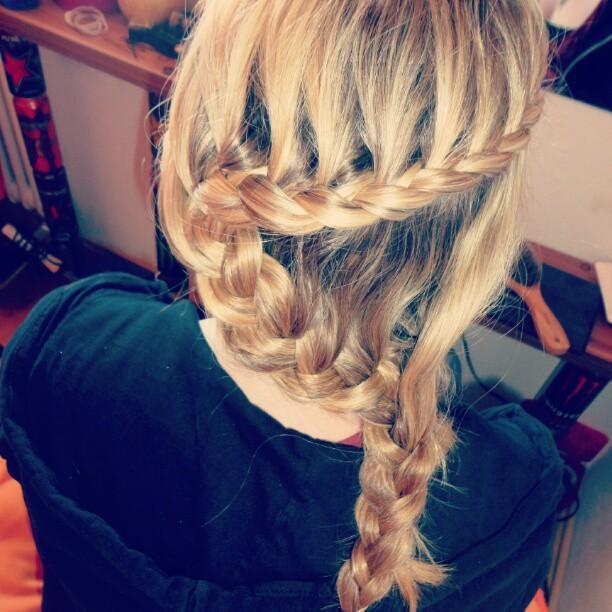 diagonal braid