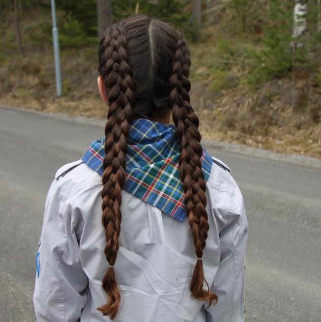 dutch five strand pigtail braids