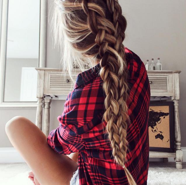 messy braid inspiration