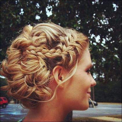 #prom #bridal #braidupdo #braided