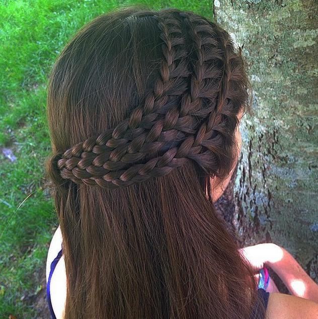 triple lace braids