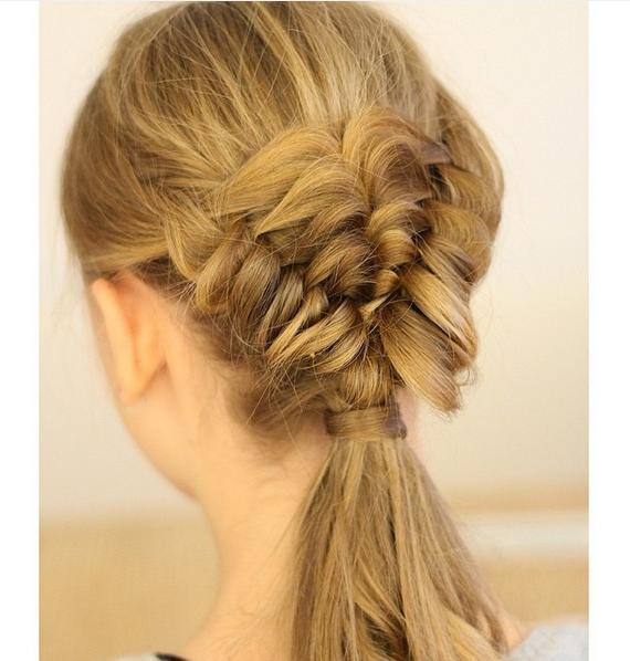 BandedPuffBraid a17hairstyles