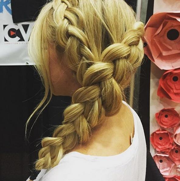 dutch braided style