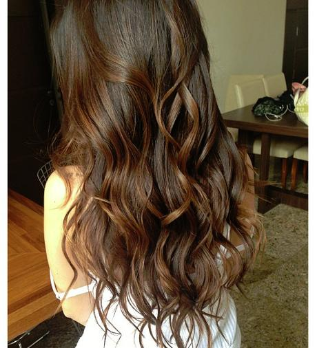 brown waves beach hair