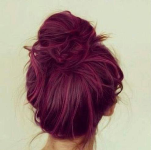 awesome grunge hair red style
