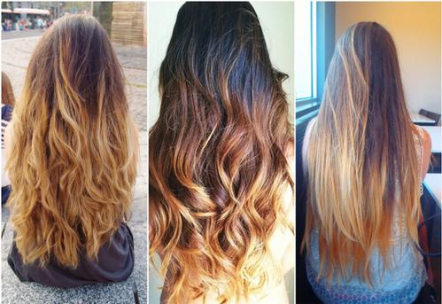 ombre hairstyles
