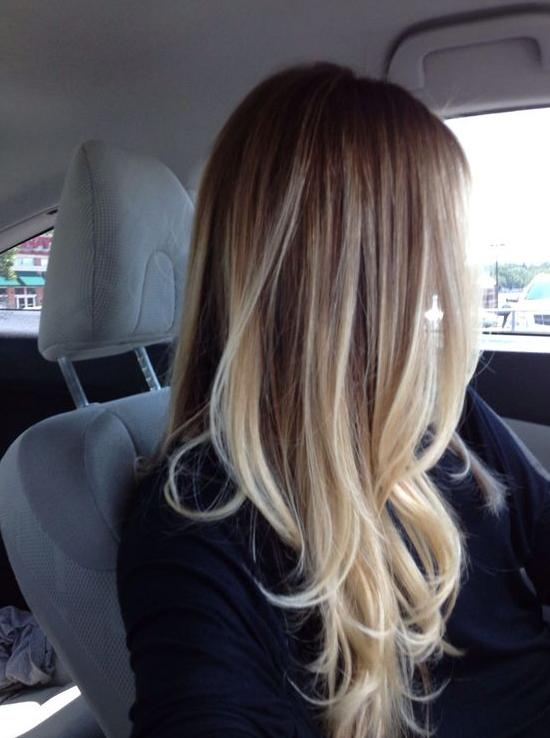 ombre hair color for those who love ombre hair